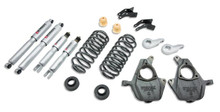 "2000-2006 Chevy Avalanche (2WD) 4/5"" Lowering Kit w/ Street Performance Shocks - Belltech 781SP"