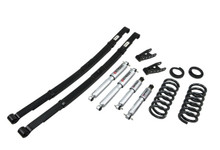 "1995-1999 Chevy Suburban C1500 (2WD) 2/4"" Lowering Kit w/ Street Performance Shocks - Belltech 783SP"