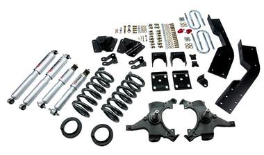 "1995-1999 Chevy Suburban C1500 (2WD) 5/7"" Lowering Kit w/ Street Performance Shocks - Belltech 784SP"