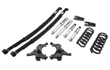 "1995-1998 Chevy Suburban C2500 (2WD) 3/4"" Lowering Kit w/ Street Performance Shocks - Belltech 786SP"