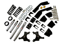 "1995-1998 Chevy Suburban C2500 (2WD) 5/7"" Lowering Kit w/ Street Performance Shocks - Belltech 968SP"