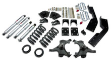 "1992-1994 Chevy Suburban C1500 2WD 5/7"" Lowering Kit w/ Street Performance Shocks - Belltech 787SP"
