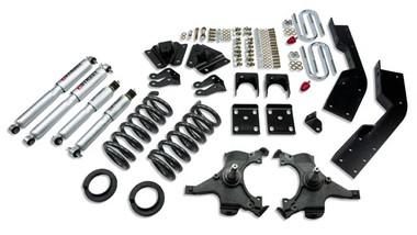 "1992-1994 Chevy Suburban C1500 2WD 5/7"" Lowering Kit w/ Street Performance Shocks - Belltech 787SP"