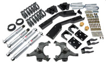 "1992-1994 Chevy Suburban C2500 (2WD) 5/7"" Lowering Kit w/ Street Performance Shocks - Belltech 789SP"