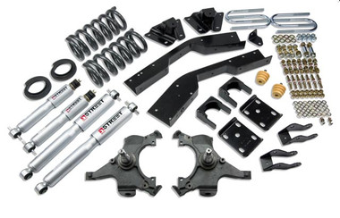 "1992-1994 Chevy Suburban C2500 (2WD) 5/7"" Lowering Kit w/ Street Performance Shocks - Belltech 789SP"