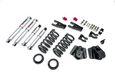 "1995-1999 GMC Yukon (2WD) 2/4"" Lowering Kit w/ Street Performance Shocks - Belltech 791SP"