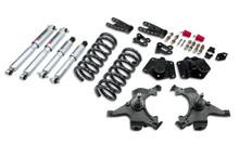 "1995-1999 Chevy Tahoe (2WD) 3/4"" Lowering Kit w/ Street Performance Shocks - Belltech 792SP"
