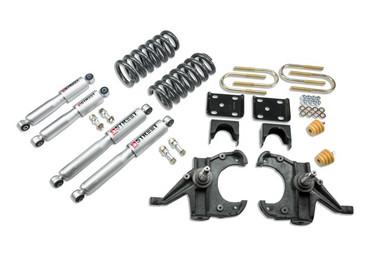 "1973-1987 GMC Jimmy 2wd (w/ 1-1/4"" Rotors) 4/6"" Lowering Kit w/ Street Performance Shocks - Belltech 953SP"