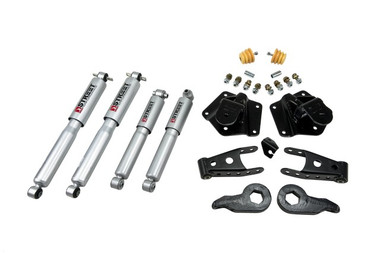 "1995-1999 Cadillac Escalade 4WD (4-Door) 2/3"" Lowering Kit w/ Street Performance Shocks - Belltech 763SP"
