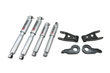 "1992-1999 GMC Yukon 4WD (2 Door) 1/1"" Lowering Kit w/ Street Performance Shock - Belltech 766SP"