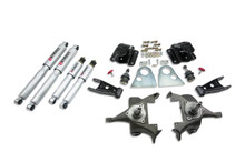 "1994-1999 Dodge Ram 1500 Standard Cab 2/4"" Lowering Kit w/ Street Performance Shocks - Belltech 813SP"