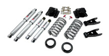 "1994-1999 Dodge Ram 1500 Standard Cab 2-3/4"" Lowering Kit w/ Street Performance Shocks - Belltech 814SP"