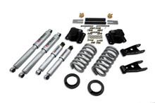 "1994-1999 Dodge Ram 1500 Extended Cab 4/4"" Lowering Kit w/ Street Performance Shocks - Belltech 819SP"