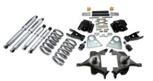 "1994-1999 Dodge Ram 1500 Extended Cab 3/4"" Lowering Kit w/ Street Performance Shocks - Belltech 820SP"