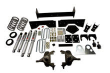 "1994-1999 Dodge Ram 1500 Extended Cab 5/6"" Lowering Kit w/ Street Performance Shocks - Belltech 822SP"