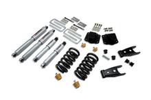 "1994-2002 Dodge Ram 3500  3/4"" Lowering Kit w/ Street Performance Shocks - Belltech 824SP"