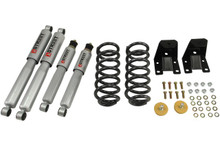 "1989-1997 Ford Ranger Std 2"" F / 2"" R Lowering Kit w/ Street Performance Shocks - Belltech 901SP"