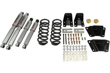 "1989-1997 Ford Ranger Std 2"" F / 4"" R Lowering Kit w/ Street Performance Shocks - Belltech 902SP"