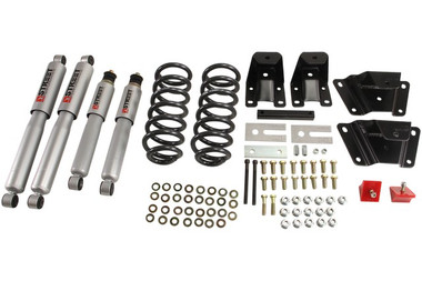 "1989-1997 Ford Ranger Extended 2"" F / 4"" R Lowering Kit w/ Street Performance Shocks - Belltech 904SP"