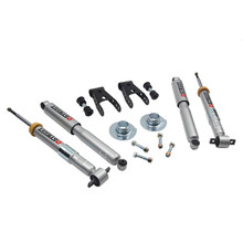 "2015-2019 Ford F150 2wd +1"" to -3"" F / 1-2"" R Lowering Kit w/ Street Performance Shocks - Belltech 1002SP"