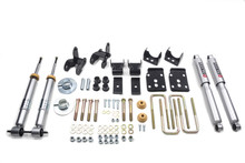 "2015-2019 Ford F150 2wd +1"" to -3"" F / 4"" R Lowering Kit w/ Street Performance Shocks - Belltech 1001SP"