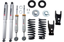 "2009-2013 Ford F150 Standard Cab 2wd 2-3"" F / 2"" R Lowering Kit w/ Street Performance Shocks - Belltech 974SP"