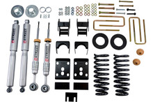 "2009-2013 Ford F150 Standard Cab (2WD) 2/4"" Lowering Kit w/ Street Performance Shocks - Belltech 980SP"