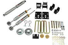 "2009-2013 Ford F150 Standard Cab (2WD) 3/4"" Lowering Kit w/ Street Performance Shocks - Belltech 982SP"