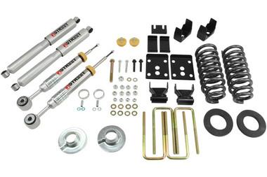 "2009-2013 Ford F150 Standard Cab (2WD) 2/5.5"" Lowering Kit w/ Street Performance Shocks - Belltech 976SP"