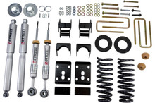 "2009-2013 Ford F150 Extended / Crew Cab (2WD) 2/4"" Lowering Kit w/ Street Performance Shocks - Belltech 981SP"
