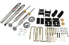 "2009-2013 Ford F150 Extended / Crew Cab (2WD) 3/4"" Lowering Kit w/ Street Performance Shocks - Belltech 983SP"