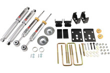 "2009-2013 Ford F150 Extended / Crew Cab (2WD) 3/5.5"" Lowering Kit w/ Street Performance Shocks - Belltech 972SP"