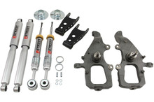 "2004-2008 Ford F150 (2WD) 2/2"" Lowering Kit w/ Street Performance Shocks - Belltech 906SP"