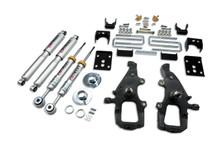 "2004-2008 Ford F150 (2WD) 4/5.5"" Lowering Kit w/ Street Performance Shocks - Belltech 911SP"
