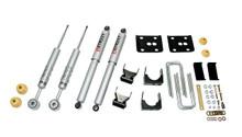 "2007-2003 Ford F150 / F250 Light Duty (2WD) 3/4"" Lowering Kit w/ Street Performance Shocks - Belltech 917SP"