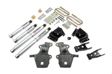 "1999-2004 Ford F150 Lightning (2WD) 2/3"" Lowering Kit w/ Street Performance Shocks - Belltech 921SP"