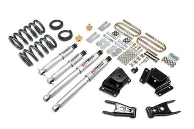 "1997-2003 Ford F150 Harley Edition (2WD) 2/3"" Lowering Kit w/ Street Performance Shocks - Belltech 923SP"