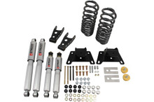 "1987-1996 Ford F150 Standard Cab (2WD) 2/4"" Lowering Kit w/ Street Performance Shocks - Belltech 924SP"