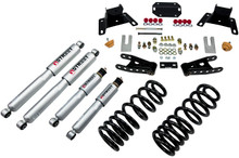 "1987-1996 Ford F150 Extended Cab (2WD) 2/4"" Lowering Kit w/ Street Performance Shocks - Belltech 926SP"