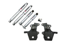 "1997-2002 Ford Expedition / Navigator (2WD w/ Rear Air Spring) 2/3"" Lowering Kit w/ Street Performance Shocks - 940SP"