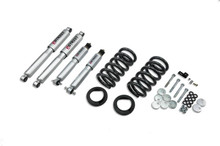 "1997-2002 Ford Expedition / Navigator (2WD w/ Rear Air Spring) 3/3"" Lowering Kit w/ Street Performance Shocks - 941SP"