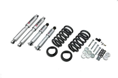 """1997-2002 Ford Expedition / Navigator (2WD w/ Rear Air Spring) 3/3"""" Lowering Kit w/ Street Performance Shocks - 941SP"""