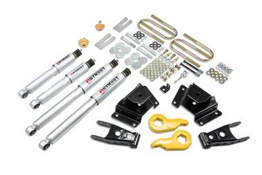 "1997-2003 Ford F150 1-3"" F / 3"" R Lowering Kit w/ Street Performance Shocks - Belltech 937SP"
