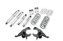 "1996-2003 Isuzu Hombre (4cyl) 3"" F / 3"" R Lowering Kit w/ Street Performance Shocks - Belltech 780SP"