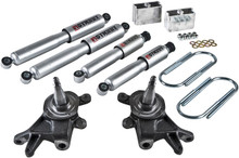 "1984-1997 Nissan Pickup & Hardbody 2"" F / 3"" R Lowering Kit w/ Street Performance Shocks - Belltech 440SP"