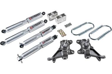 "1984-1995 Toyota Pickup 2"" F / 3"" R Lowering Kit w/ Street Performance Shocks - Belltech 444SP"