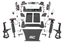 """2019-2022 Chevy & GMC 1500 Trail Boss & AT4 4wd 4"""" Lift Kit W/ Vertex Coilovers - Rough Country 27550"""