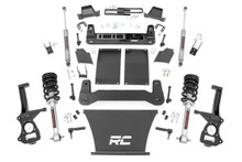 """2019-2022 Chevy & GMC 1500 Trail Boss & AT4 4wd 4"""" Lift Kit W/ N3 Struts - Rough Country 27532"""