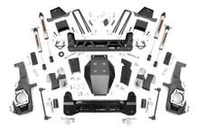 "2020-2022 Chevy & GMC 2500HD 4wd 7"" Lift Kit W/ V2 Shocks - Rough Country 10170"