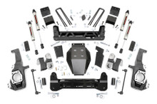 "2020-2022 Chevy & GMC 2500HD 4wd 5"" Lift Kit W/ V2 Shocks - Rough Country 10270"